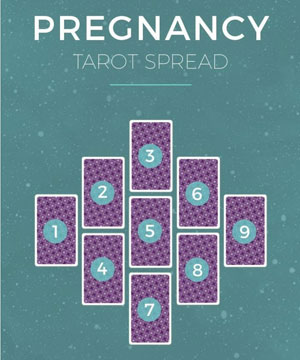 Read your pregnancy Tarot spread